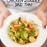 chicken zoodle pad thai