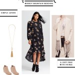What to Wear: Woodsy Mountain Wedding
