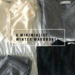 minimal winter wardrobe