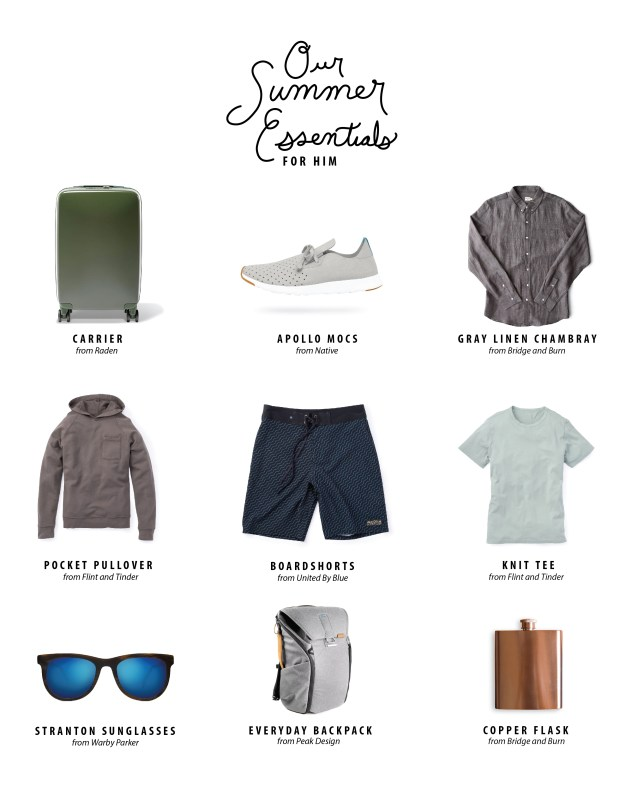 our summer essentials for her 2
