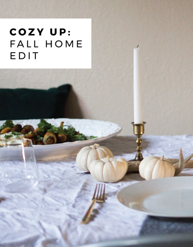fall home edit