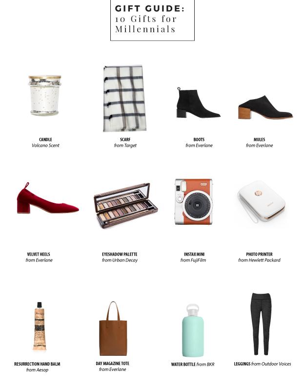 10 gifts for millennials