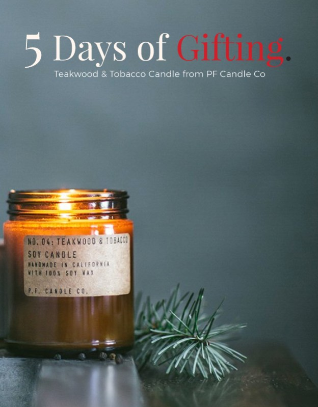 5 Days of Gifting PF Candle Co