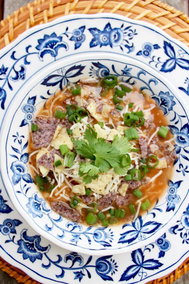 Crock Pot Soup, Chicken Enchilada