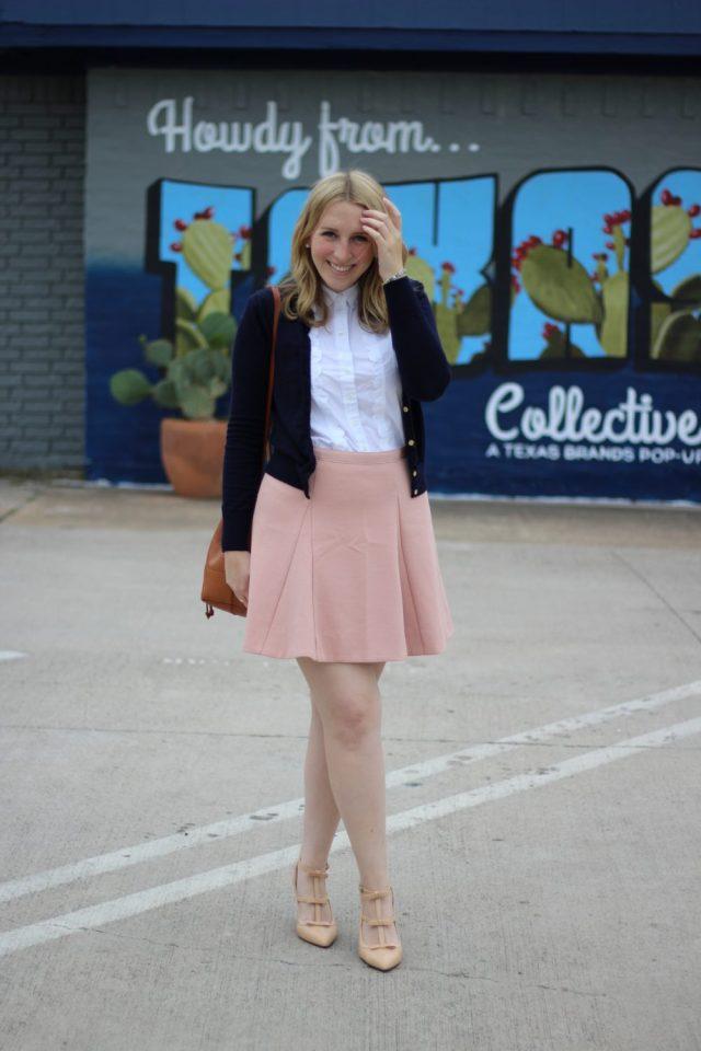 J.Crew Pink Mini Skirt