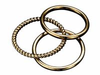 Fiorelli Gold Stacking Rings