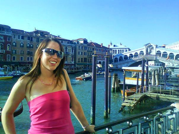 So happy to exploring romantic Venice