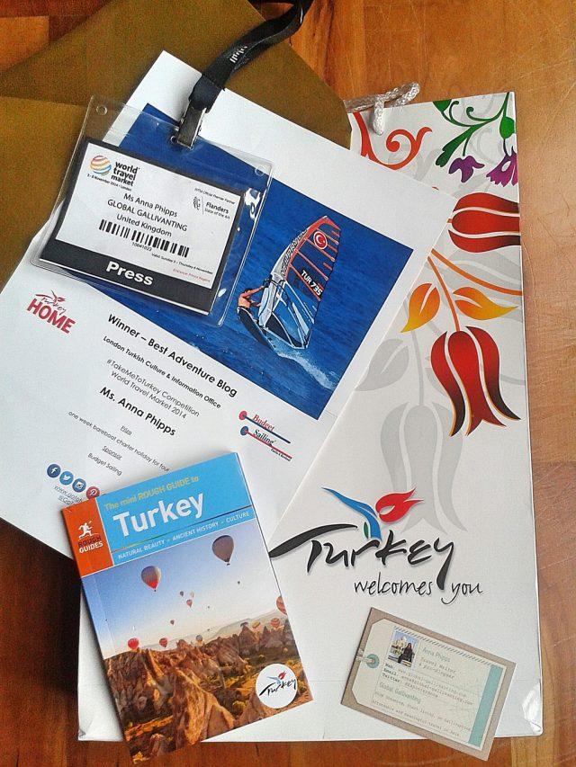 global gallivanting WTM14 prize takemetoturkey