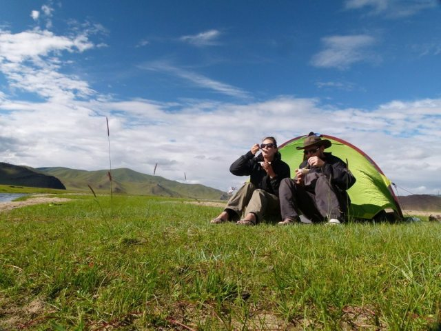 Hiking and Camping in Mongolia