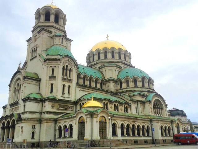 Sofia Cathedral in Bulgaria, one of the cheapest places to travel in Europe