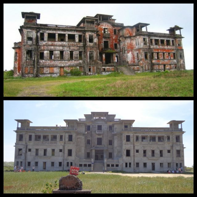 Bokor Casino then and now