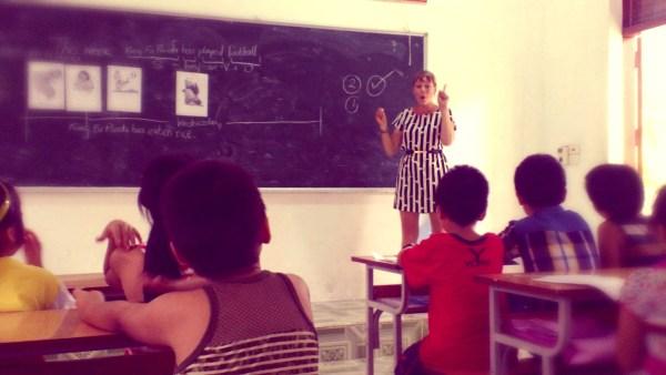 Teacher Alice