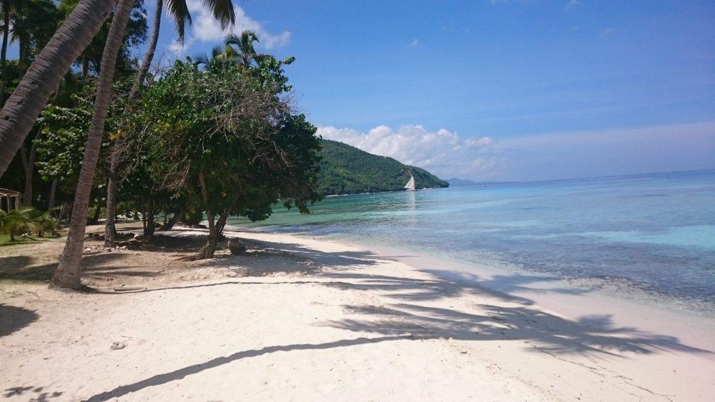 Beautiful beaches in Haiti