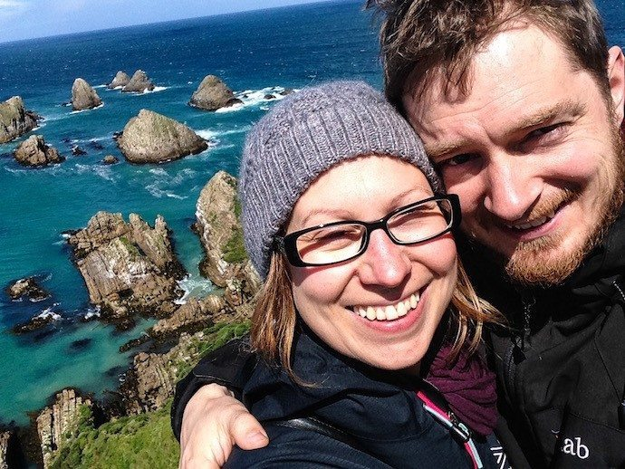 Lewis and Jenny - a freelance developer and copy writer digital nomad couple