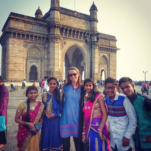 If you go down to the Gateway of India in Mumbai you might feel like a celebrity as all the locals want to take photos with you