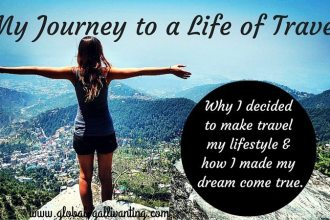 My Journey to a Life of Travel
