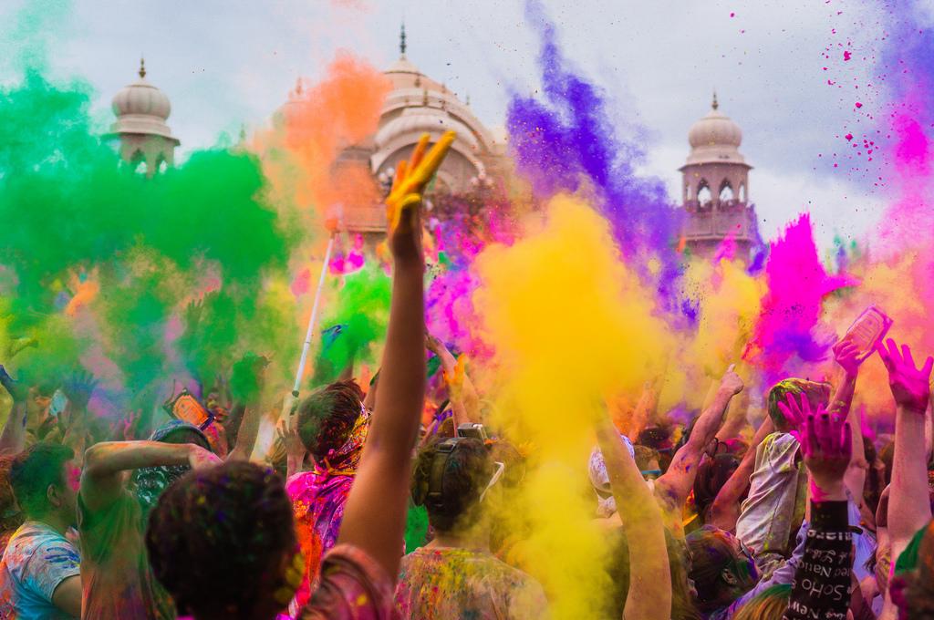 Colours of Holi festival