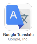 In search of a better translation icon