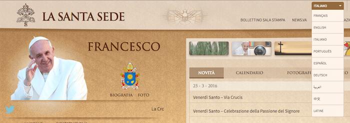 Holy See global gateway