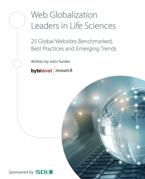 Last call for the Website Globalization in Life Sciences webinar