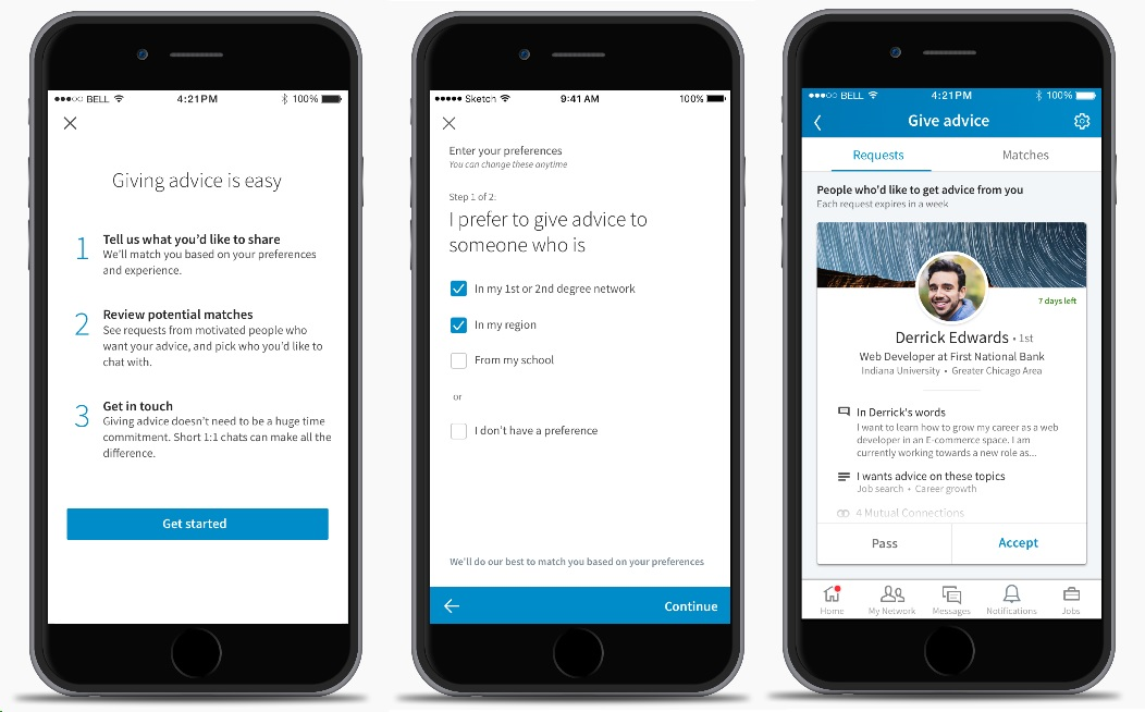 Linkedin Launches Tinder-Style Service To Pair You With A Mentor