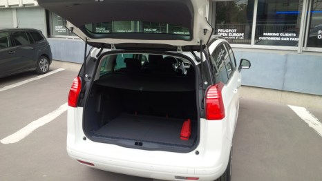 Lots of trunk space!