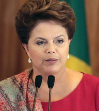Brazil's president Dilma Rousseff is seeking $64bn from private investors. Photo credit: Panorama Mercantil
