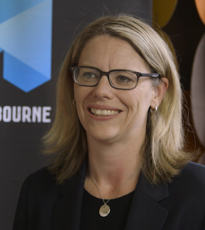 Michelle Fitzgerald is Melbourne's first ever chief digital officer, and heads the city's newly-formed Smart City Office