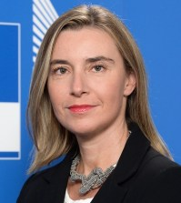 Federica Mogherini, European Union's high representative on foreign affairs