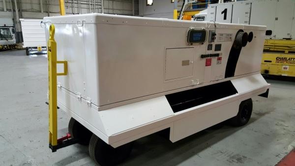 Global Gse Trilectron Vesuvius Dah400dpe Aircraft Heater