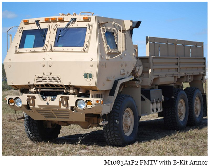 The M1083A1P2 before being destroyed by al-Qaeda My New Pin - vehicle service contracts