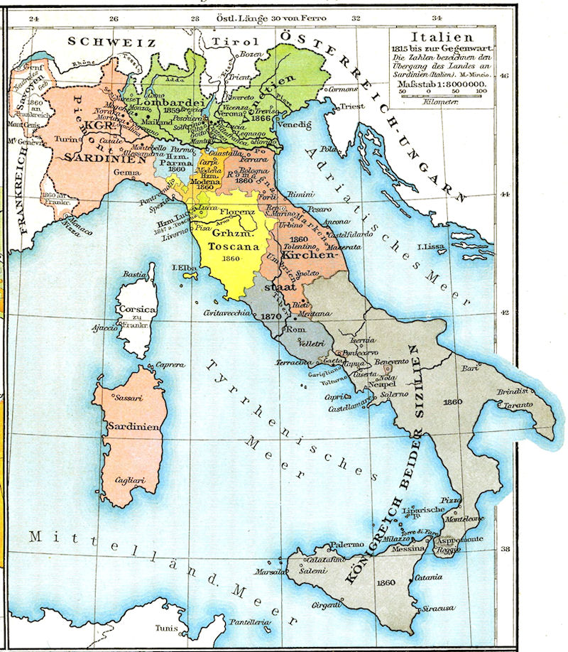 Italy Unification Essay