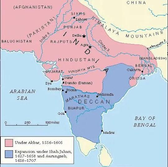 Mughal Empire - 1526-1857 - mughal empire