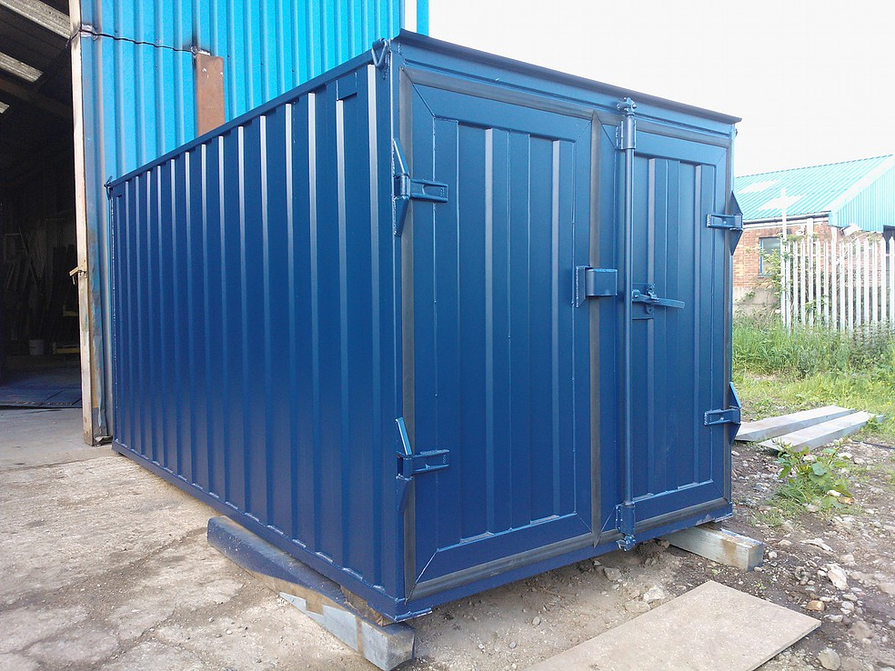 12ft X 8ft Blue New Storage Container Www