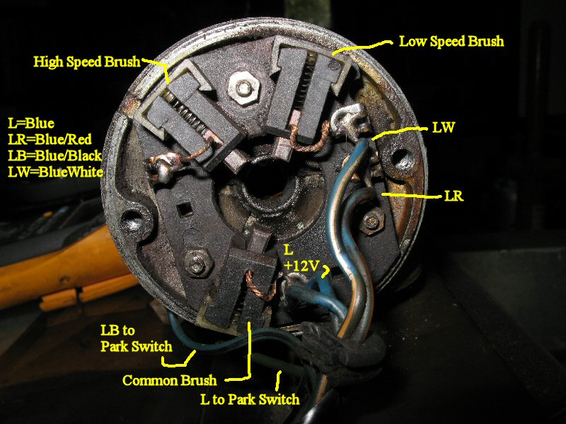 Fj40 Wiper Motor Wiring manual guide wiring diagram