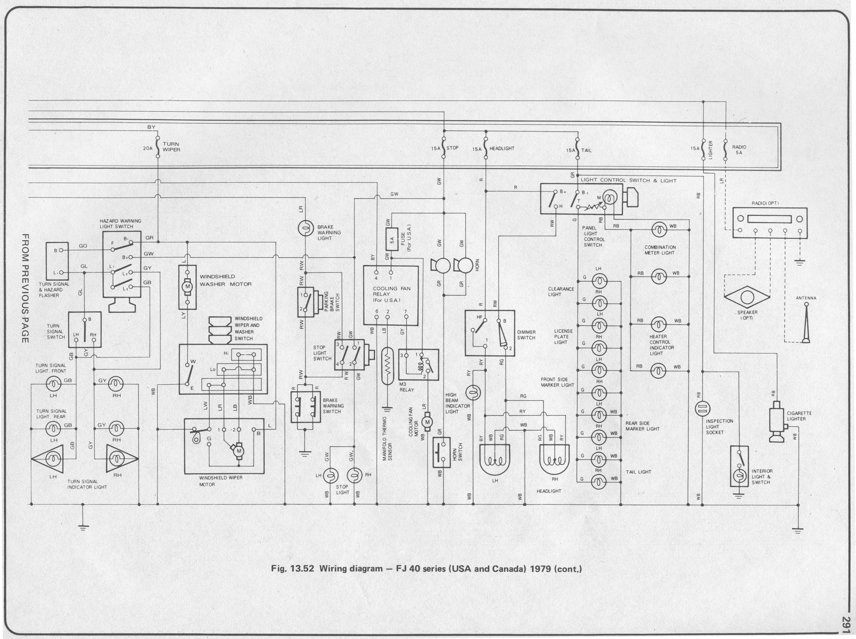 fj40 electrical schematics