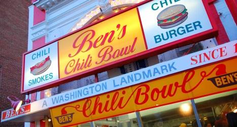 Ben's Chili Bowl, Washington D.C. © Steve Snodgrass | Flickr