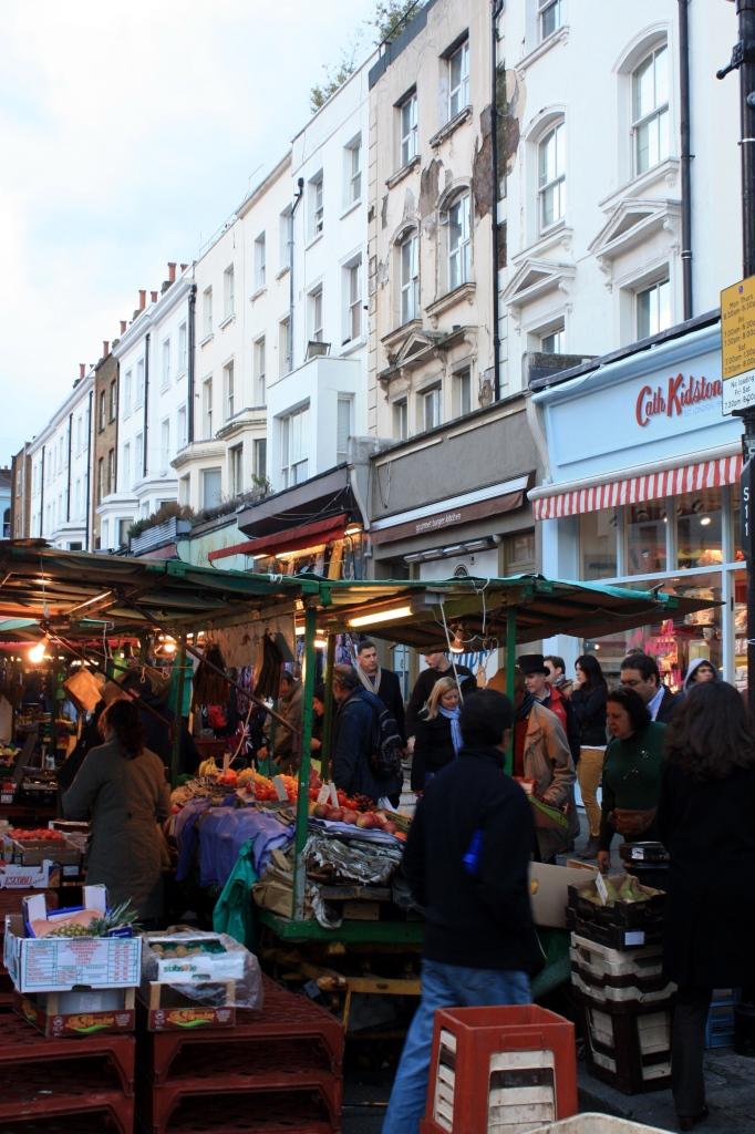 Marché de Notting Hill - Londres