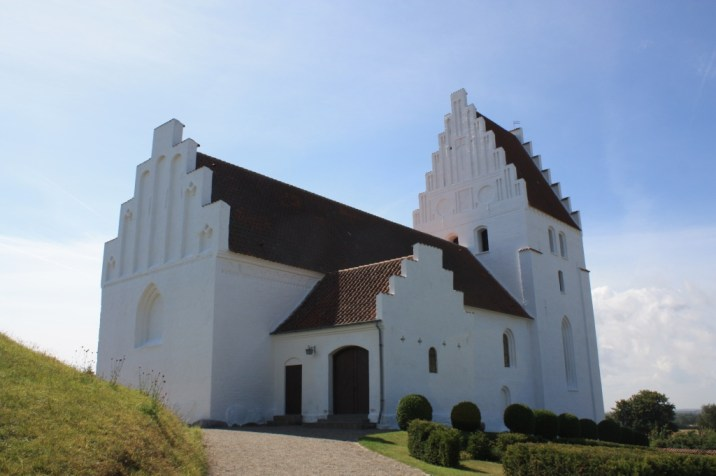 Eglise d'Elmelunde - île de Møn - Danemark