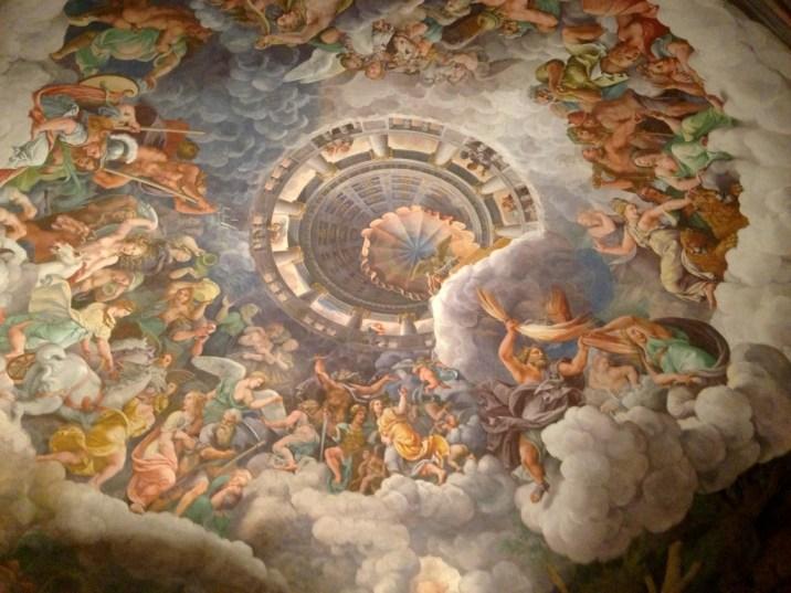 Palazzo Te - Salle des Géants - Mantoue - Italie