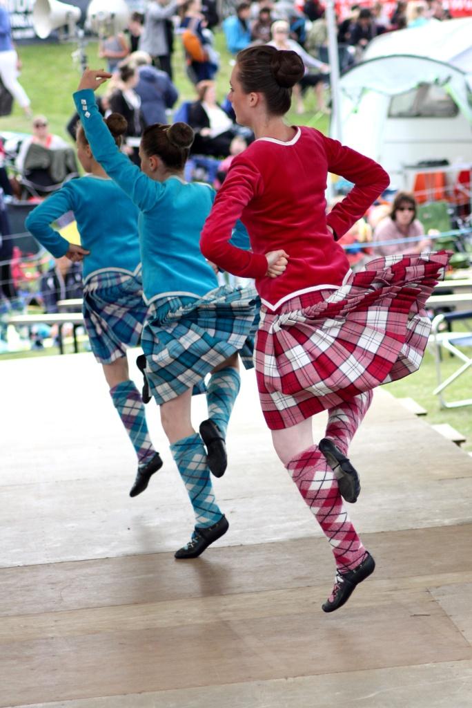 danseuses - Highland Games - Ecosse