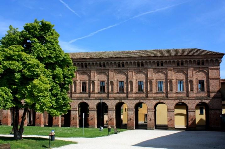 Palazzo Giardino de l'extérieur - Sabbioneta - Italie