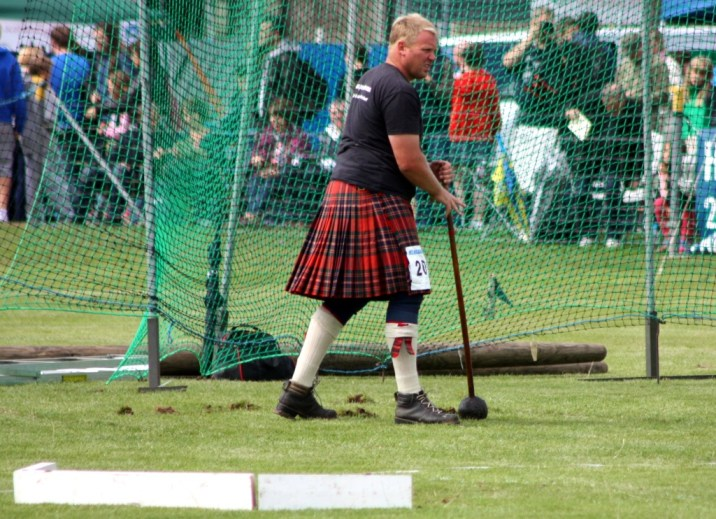 Lancer marteau - Highland Games - Ecosse