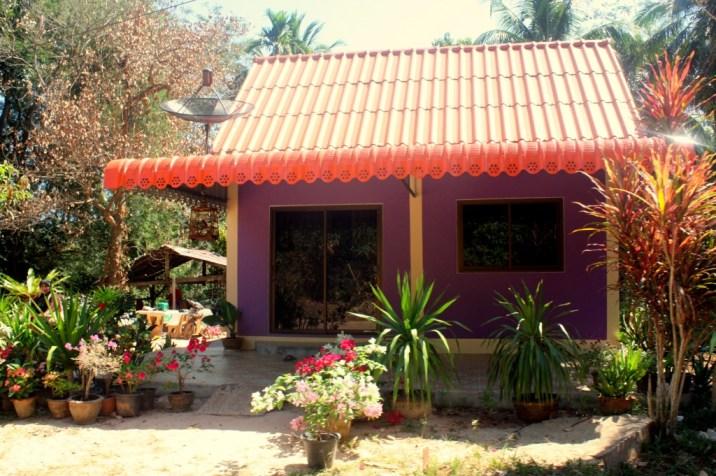 maison colorée - koh yao yai - thailande