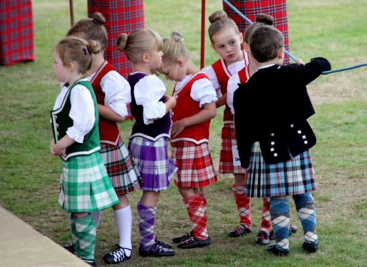 danseurs - Highland Games - Ecosse