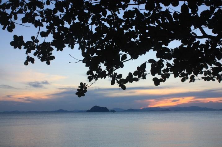 Coucher soleil Lo Paret - Koh Yao Yai - Thailande