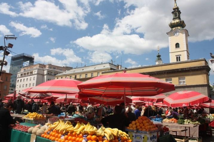 marché - zagreb - croatie