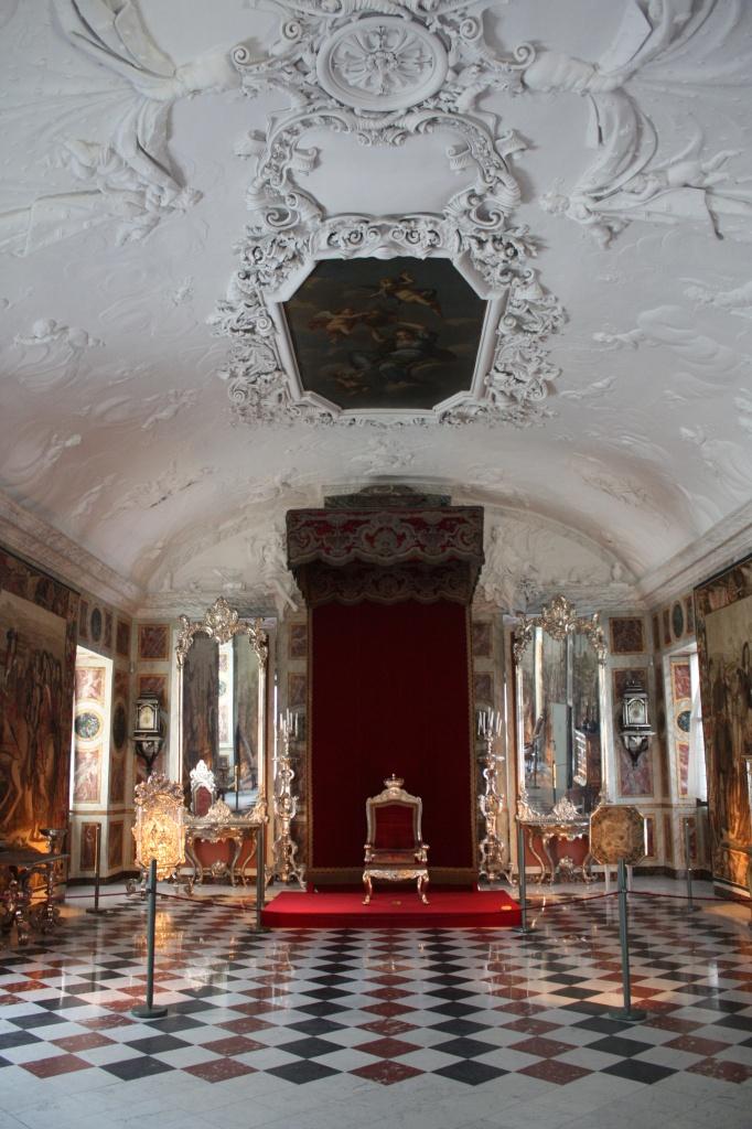 Salle du trône - rosenborg - copenhague