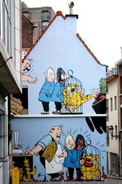 mur BD - Bruxelles