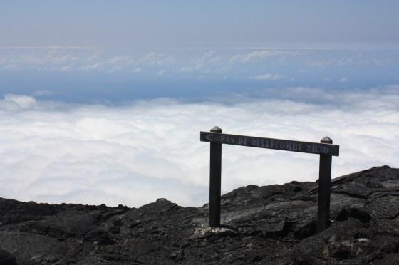 Retour Pas de Bellecombe - volcan - ile de la Réunion